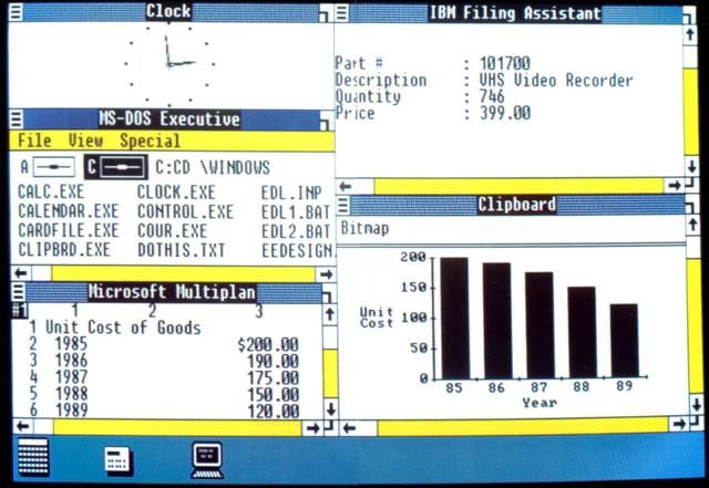 Windows 1.0 venne lanciato 25 anni fa