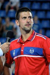 Novak Djokovic alla Hopman Cup 2011