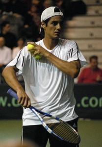 Nicolas Lapentti nel 2009 in Coppa Davis
