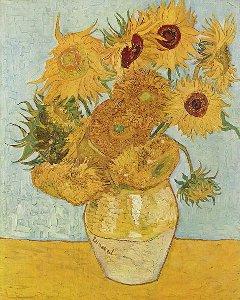 Vaso di girasoli di Vincent Van Gogh