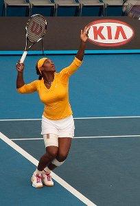 Serena Williams agli Australian Open 2010
