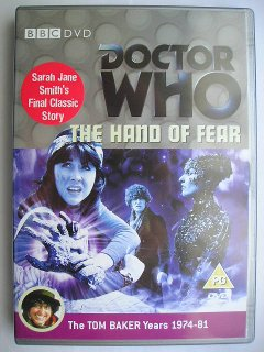 Elisabeth Sladen in The Hand of Fear, la sua ultima avventura classica di Doctor Who