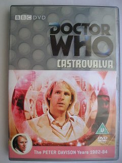 Peter Davison in Castrovalva, la sua prima avventura in Doctor Who