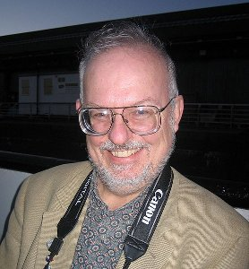 Greg Bear alla World Science Fiction Convention di Glasgow nel 2005