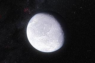 Concetto artistico del pianeta nano Eris (Immagine ESO/L. Calçada)