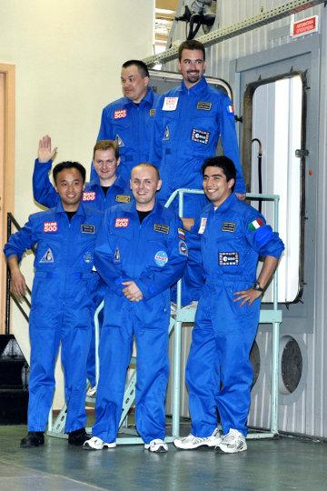 Gli astronauti virtuali della missione Mars500