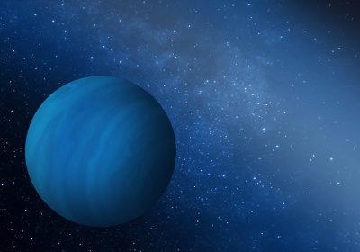 Concetto artistico del pianeta gigante perduto (Immagine cortesia del Southwest Research Institute)