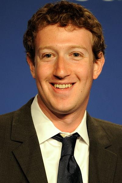 Il fondatore di Facebook Mark Zuckerberg
