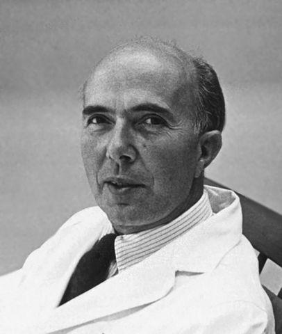 Renato Dulbecco nel 1966