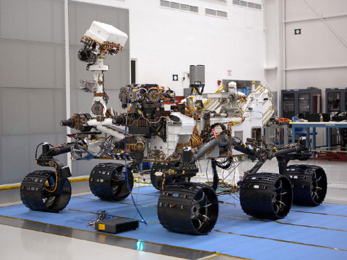 Il Mars Rover Curiosity (Immagine NASA/JPL-Caltech)