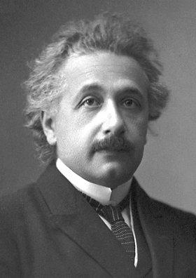 Foto ufficiale di Albert Einstein dopo aver ricevuto il Premio Nobel per la fisica nel 1921