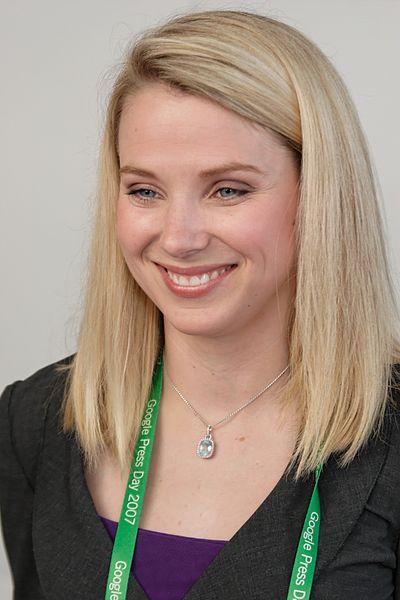 Marissa Mayer nel 2007