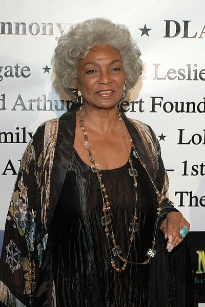 Nichelle Nichols al Children Uniting Nations Academy Award Viewing Party del 2009