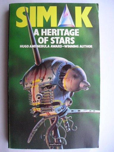 Eredità di stelle di Clifford D. Simak (edizione britannica)