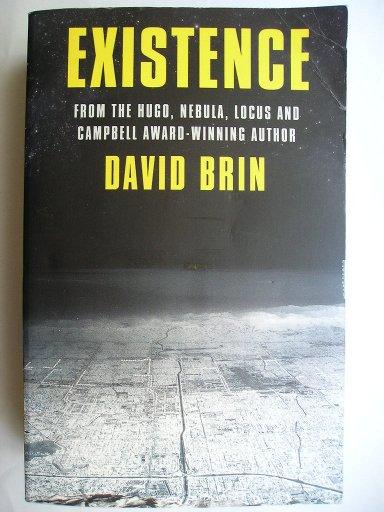 Existence di David Brin (edizione britannica)