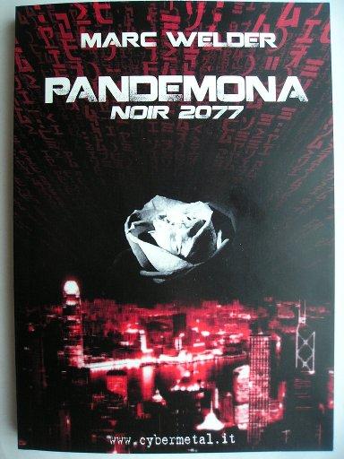 Pandemona - Noir 2077 di Marc Welder