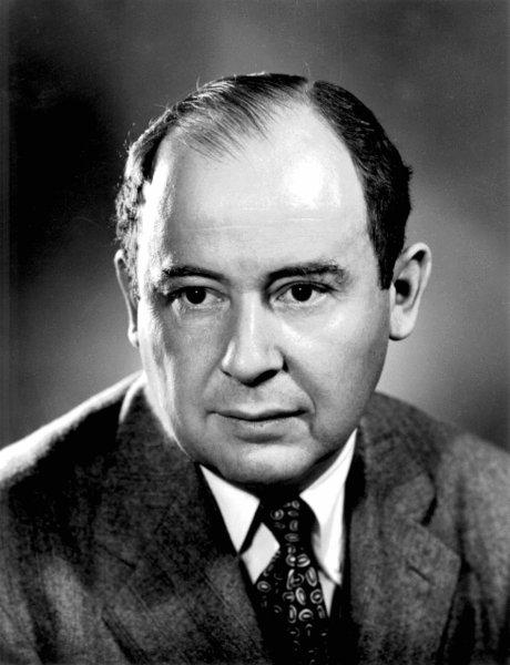 John von Neumann quando lavorava a Los Alamos