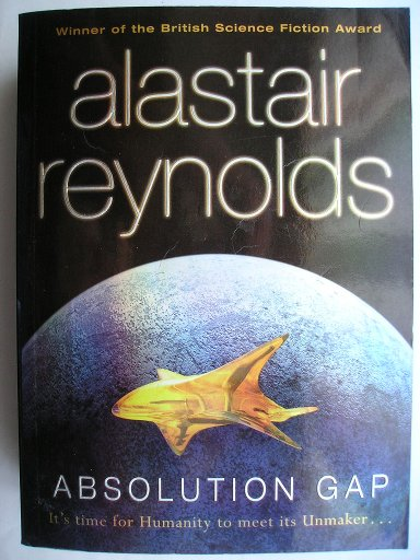 Absolution Gap di Alastair Reynolds (edizione britannica)