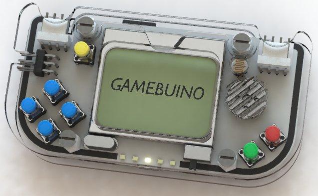 La console Gamebuino (Foto cortesia Aurélien Rodot. Tutti i diritti riservati)