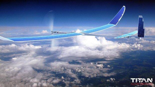 Il drone Solara 50 di Titan Aerospace (Foto cortesia Titan Aerospace. Tutti i diritti riservati)