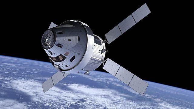Concetto artistico della navicella spaziale Orion (Immagine NASA)