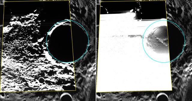 Il cratere Kandinsky di Mercurio fotografato dalla sonda spaziale Messenger (Immagine ASA/Johns Hopkins University Applied Physics Laboratory/Carnegie Institution of Washington)