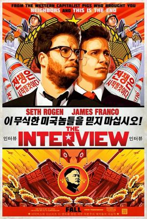 Poster del film The Interview al centro delle cronache