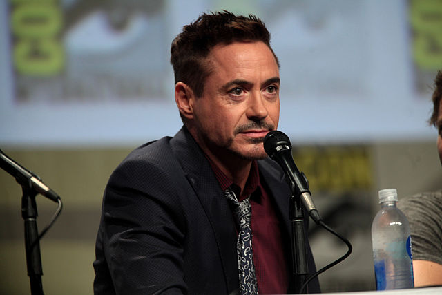Robert Downey Jr. alla Comic Con 2014