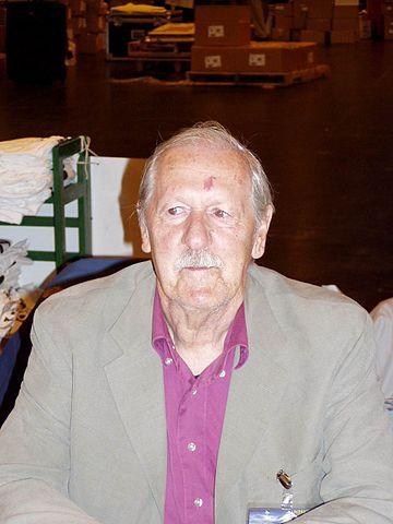 Brian Aldiss alla Worldcon 2005