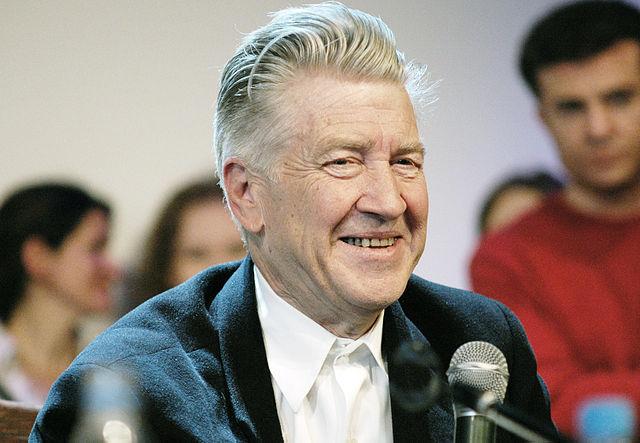 David Lynch a Mosca nel 2009