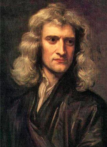 Ritratto di Isaac Newton del 1689