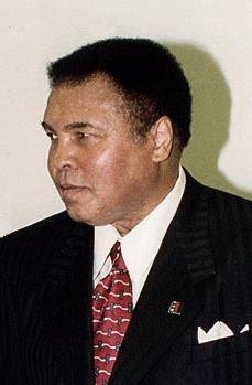 Muhammad Alì nel 2004