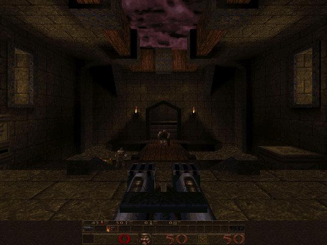"""Schermata di """"Quake"""""""