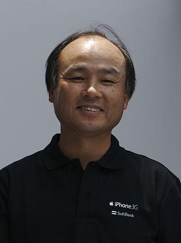 Masayoshi Son nel 2008
