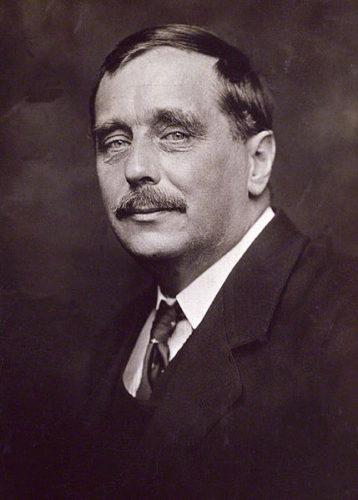 H.G. Wells fotografato da George Charles Beresford nel 1920