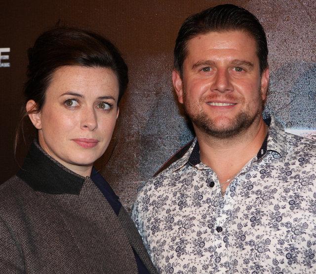 Eve Myles e Kai Owen nel 2013