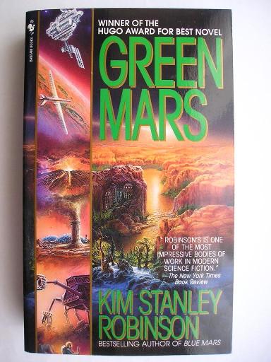 Il verde di Marte di Kim Stanley Robinson (Edizione americana)