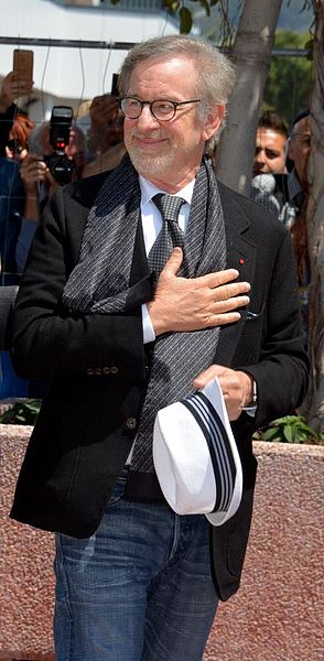 Steven Spielberg nel 2016 (Foto Georges Biard)