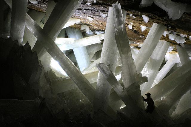 Cristalli della grotta di Naica
