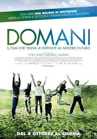 La locandina del documentario Domani