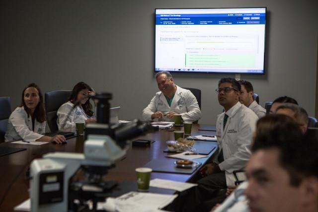 Il team oncologico del Jupiter Medical Center in Florida (Foto cortesia EPIC Creative)