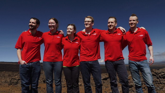 L'equipaggio della missione Hi-SEAS V (Foto cortesia Hi-SEAS)