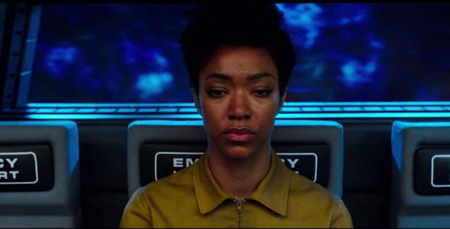 Michael Burnham (Sonequa Martin-Green) in Il contesto è per i re (Immagine cortesia CBS / Netflix)