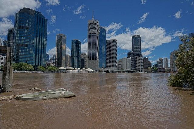 Alluvione a Brisbane nel 2013 (Foto ShepsSnaps)