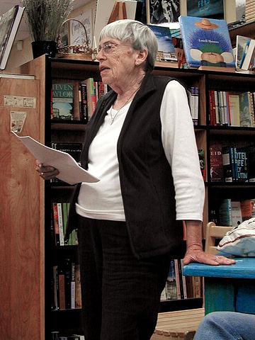 Ursula Le Guin nel 2008