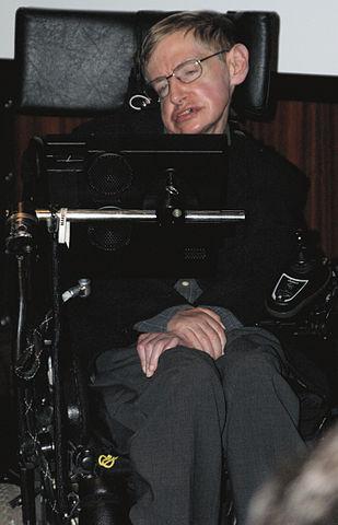 Stephen Hawking alla Biblioteca Nazionale di Francia