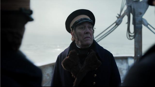 Il Capitano John Franklin (Ciarán Hinds) in Tutto per tutto (Immagine cortesia AMC Studios / Amazon. Tutti i diritti riservati)