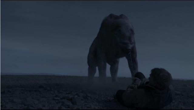 La creatura Tuunbaq in Non ci siamo più (Immagine cortesia AMC Studios / Amazon. Tutti i diritti riservati)