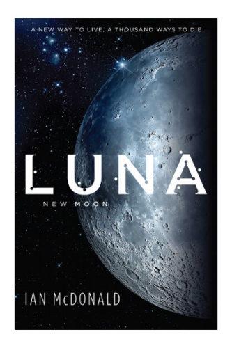 Luna nuova di Ian McDonald (edizione britannica)