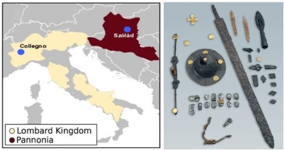 Una ricerca paleogenomica offre informazioni sulle ascendenze genetiche e la struttura sociale dei longobardi